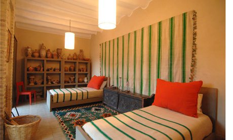 One of the rooms at Dar al Hossoun