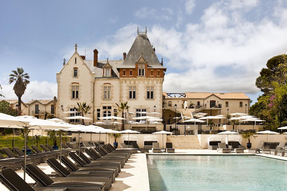 Chateau de St Pierre de Serjac. Languedos Roussilon, France. Le 26/04/2016