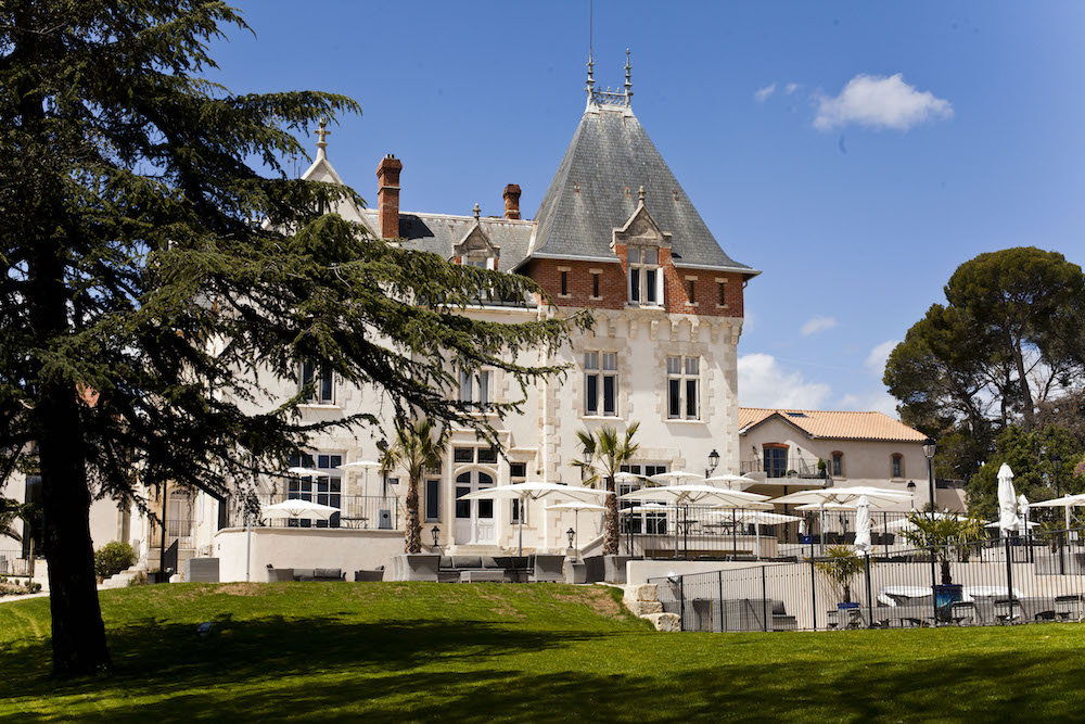 Chateau de St Pierre de Serjac. Languedos Roussilon, France. Le 27/04/2016