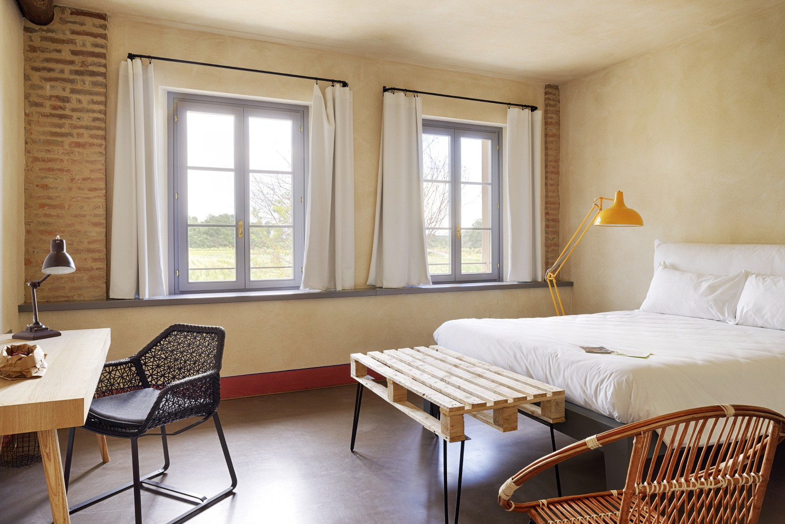 La-Cascina-Erbatici-Chambre