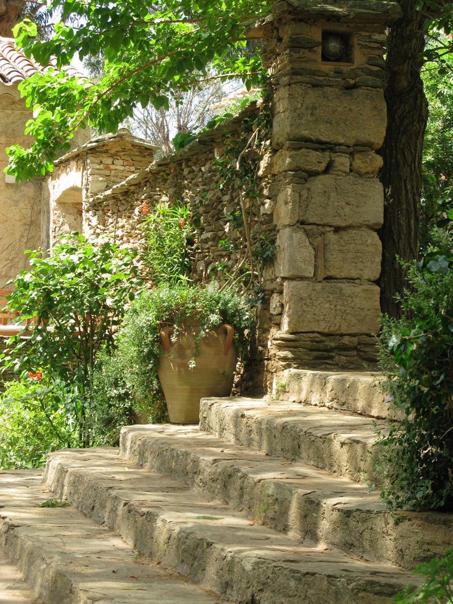 escalier-pierres